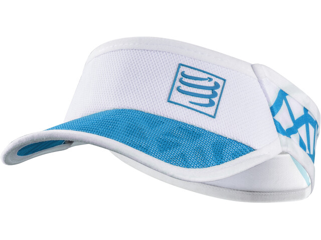 Compressport Spiderweb Ultralight Visor White-Blue